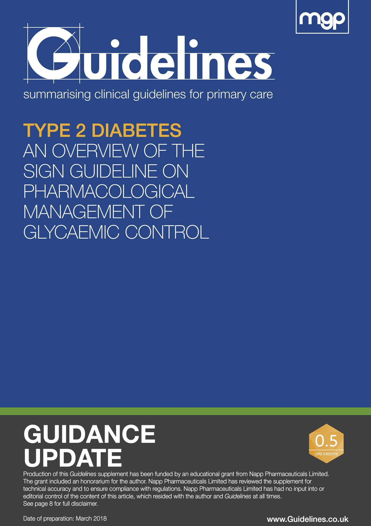 Type 2 diabetes: an overview of the SIGN guideline on