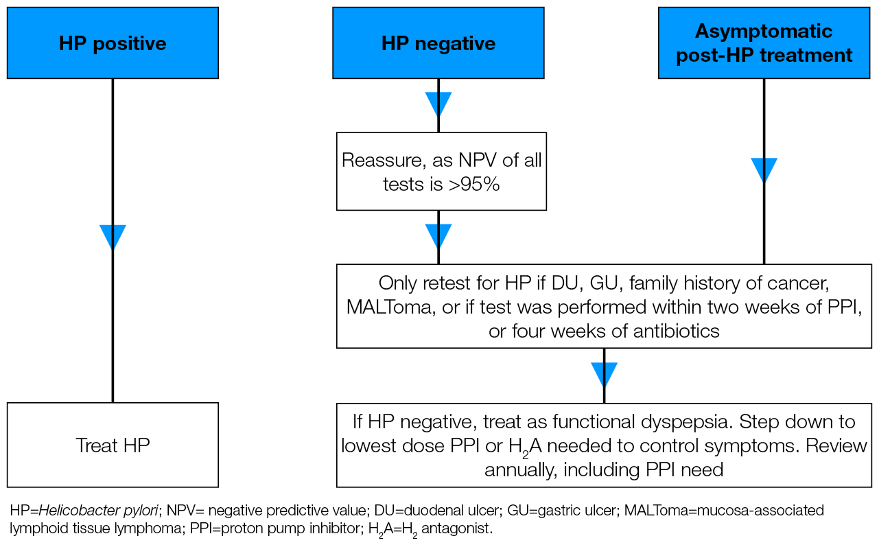 PHE H  pylori in dyspepsia guideline | PHE/DH/DWP guideline | Guidelines