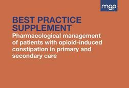 Consensus on pharmacological management of oic