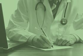 doctor making notes 425x282
